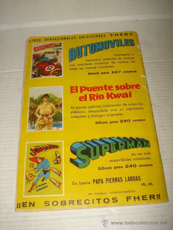 Coleccionismo Álbumes: Antiguo Album ** AUTOMOVILES **de Editorial FHER del año 1958 - Foto 5 - 34147623
