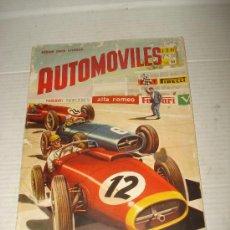 Coleccionismo Álbumes: ANTIGUO ALBUM ** AUTOMOVILES **DE EDITORIAL FHER DEL AÑO 1958. Lote 34147623