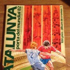 Coleccionismo Álbumes: ALBUM - CATALUNYA - PORTA DEL MUNDIAL 82 (A-0). Lote 34188980