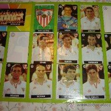 Coleccionismo Álbumes: ALBUM DE CHICLE LA LIGA DE LAS ESTRELLAS TEMPORADA 1996 97 (CREO) SEVILLA FC. Lote 34245485