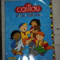 Coleccionismo Álbumes: ALBUM DE CAILLOU DE PANINI . Lote 34395027