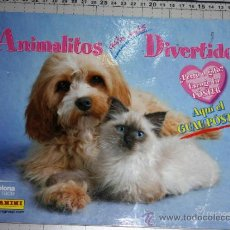 Coleccionismo Álbumes: ALBUM ANIMALITOS AUN MAS DIVERTIDOS DE PANINI . Lote 34395046