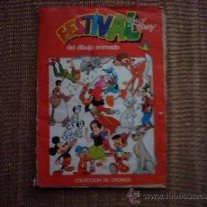 Coleccionismo Álbumes: FESTIVAL WALT DISNEY DEL DIBUJO ANIMADO. 1981. 175 CROMOS.. Lote 34618798