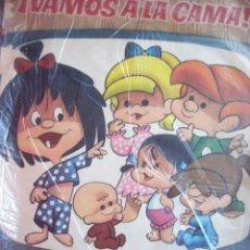 Coleccionismo Álbumes: ALBUM VAMOS A LA CAMA. FAMILIA TELERIN. INCOMPLETO. HAY 25 CROMOS DE 180. Lote 34936724