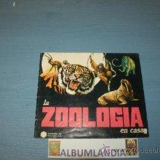 Coleccionismo Álbumes: ALBUMLANDIA ALBUM INCOMPLETO DE LA ZOOLOGIA EN CASA DE DIDEC. Lote 35183606
