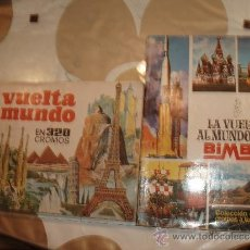 Coleccionismo Álbumes: ALBUM VUELTA AL MUNDO BIMBO Y VUELTA AL MUNDO EN 320 CROMOS. Lote 35352547