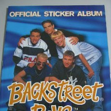 Coleccionismo Álbumes: BACKSTREET BOYS (OFFICIAL STICKER ALBUM) LEER DESCRIPCION. Lote 35445384