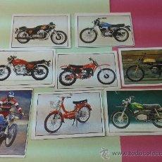 Coleccionismo Álbumes: 8 CROMOS MOTO 80 EDICIONES ESTE ORIGINALES AÑOS 70-80. Lote 35546249