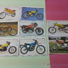 Coleccionismo Álbumes: 8 CROMOS MOTO 80 EDICIONES ESTE ORIGINALES AÑOS 70-80. Lote 35546335