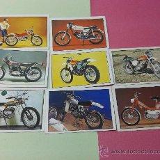 Coleccionismo Álbumes: 8 CROMOS MOTO 80 EDICIONES ESTE ORIGINALES AÑOS 70-80. Lote 35546554
