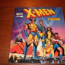 Coleccionismo Álbumes: ALBUM DE CROMOS INCOMPLETO X-MEN PANINI MARVEL COMICS CONTIENE 120 CROMOS. Lote 35578063