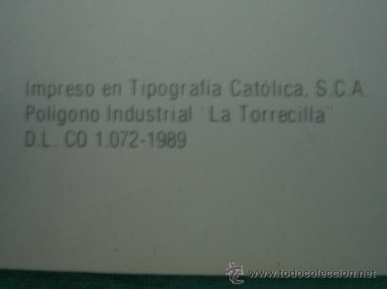Coleccionismo Álbumes: Albun de cromos Cordoba y sus monumentos 1989. Incompleto - Foto 2 - 35732308
