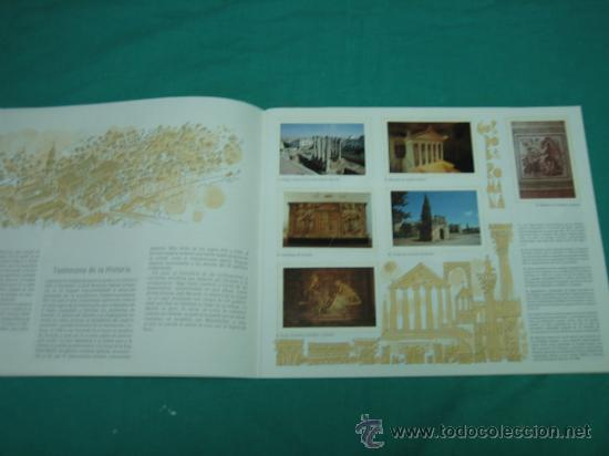 Coleccionismo Álbumes: Albun de cromos Cordoba y sus monumentos 1989. Incompleto - Foto 3 - 35732308