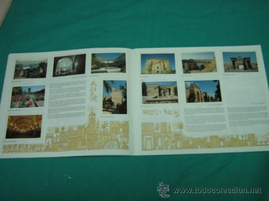 Coleccionismo Álbumes: Albun de cromos Cordoba y sus monumentos 1989. Incompleto - Foto 6 - 35732308