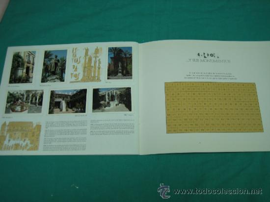 Coleccionismo Álbumes: Albun de cromos Cordoba y sus monumentos 1989. Incompleto - Foto 18 - 35732308