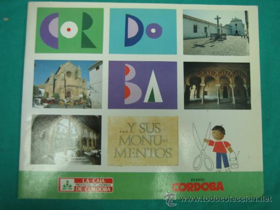 ALBUN DE CROMOS CORDOBA Y SUS MONUMENTOS 1989. INCOMPLETO (Coleccionismo - Cromos y Álbumes - Álbumes Incompletos)
