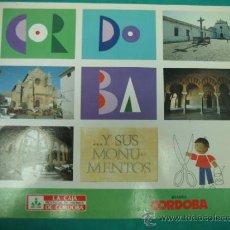 Coleccionismo Álbumes: ALBUN DE CROMOS CORDOBA Y SUS MONUMENTOS 1989. INCOMPLETO. Lote 35732308