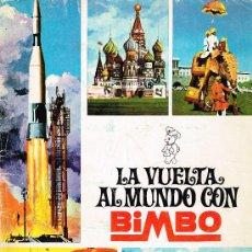 Coleccionismo Álbumes: ÁLBUM LA VUELTA AL MUNDO CON BIMBO - 1966 - CON 156 CROMOS. Lote 35735463