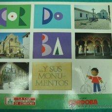 Coleccionismo Álbumes: ALBUN DE CROMOS. CORDOBA Y SUS MONUMENTOS 1989. INCOMPLETO. Lote 35797406