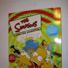 Coleccionismo Álbumes: ALBUM INCOMPLETO THE SIMPSONS LA COLECCION SPRINGFIELD II PANINI AÑO 2000 - FX. Lote 35840132