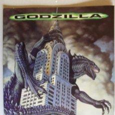Coleccionismo Álbumes: GODZILLA.PANINI.CON 78 CROMOS. Lote 36063790