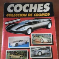 Coleccionismo Álbumes: ALBUM DE CROMOS - COCHES - AUTOPISTA - FALTAN 6 CROMOS. Lote 36074392