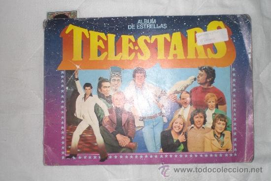 TELESTARS ALBUM DE ESTRELLAS (Coleccionismo - Cromos y Álbumes - Álbumes Incompletos)