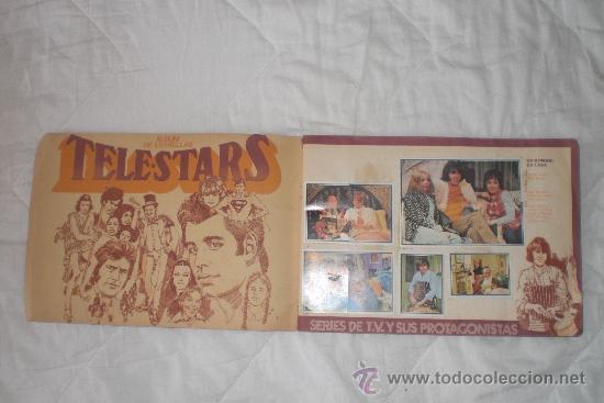 Coleccionismo Álbumes: TELESTARS ALBUM DE ESTRELLAS - Foto 2 - 36466568
