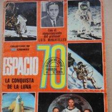 Coleccionismo Álbumes: ESPACIO 70 ESTE FALTAN-89 CROMOS. Lote 36618647