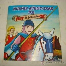Coleccionismo Álbumes: ANTIGUO ALBUM DE CROMOS NUEVAS AVENTURAS DE RUY EL PEQUEÑO CID DE EDIT. FHER DE 1981. Lote 36792703