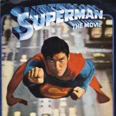 Coleccionismo Álbumes: ALBUM SUPERMAN THE MOVIE. INCOMPLETO.TIENE 75 CROMOS. Lote 36820987
