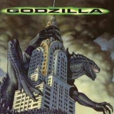 Coleccionismo Álbumes: GODZILLA (ALBUM CON 114 CROMOS). Lote 36965306