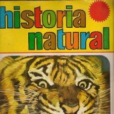 Coleccionismo Álbumes: HISTORIA NATURAL. (HAY UN TOTAL DE 498 CROMOS.FALTAN 10 CROMOS) ED. BRUGUERA, 1967. Lote 37382671