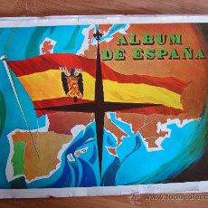 Coleccionismo Álbumes: ALBUM DE CROMOS. ALBUM DE ESPAÑA. 1967. INCOMPLETO. EDITORIAL SANTA EUFEMIA. MUY RARO. Lote 37407916