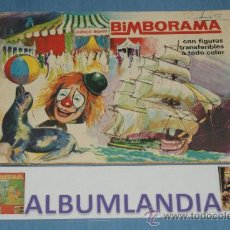 Coleccionismo Álbumes: ALBUM INCOMPLETO DE BIMBORAMA AÑO 1972 DE BIMBO. Lote 37473996