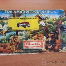 Coleccionismo Álbumes: ALBUM TUS AMIGOS LOS PERROS DE PANRICO. Lote 37498517