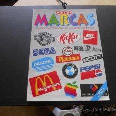 Coleccionismo Álbumes: SUPER MARCAS. MAGIC BOX. INCOMPLETO. Lote 37646396