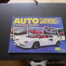 Coleccionismo Álbumes: AUTO 2000. ÁLBUM PARA CROMOS. COMIC-ROMO - SOLO AUTO. INCOMPLETO. Lote 37646513