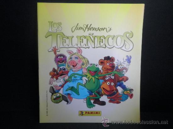 Coleccionismo Álbumes: ALBUM LOS TELEÑECOS + CAJA DE 50 SOBRES - NUEVO - PANINI - Foto 2 - 37757090