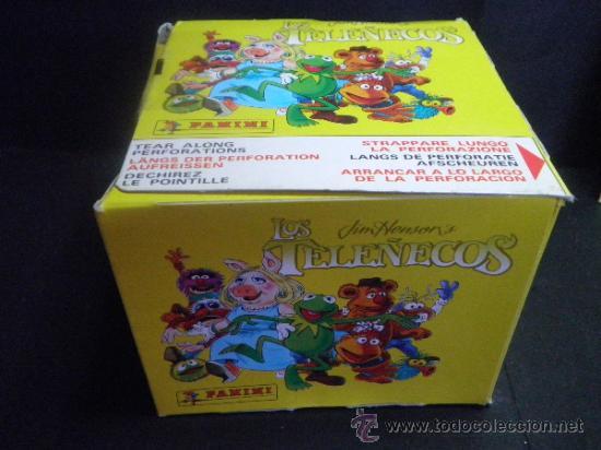 Coleccionismo Álbumes: ALBUM LOS TELEÑECOS + CAJA DE 50 SOBRES - NUEVO - PANINI - Foto 3 - 37757090