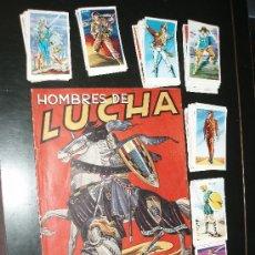 Coleccionismo Álbumes: HOMBRE DE LUCHA ALBUM MAS 65 CROMOS,RUIZ ROMERO. Lote 37842341