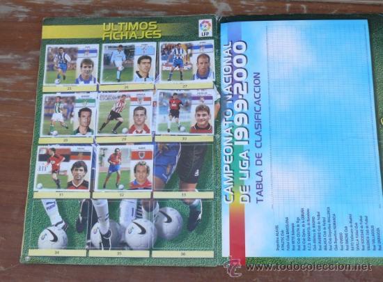 Coleccionismo Álbumes: CROMO JAVIER CLEMENTE COLOCA IMPOSIBLE DIFICIL EN ALBUM CROMOS LIGA ESTE 1999 2000 CROMO - Foto 3 - 37844864