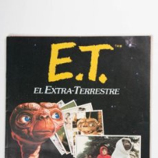 Coleccionismo Álbumes: ÁLBUM E.T. EL EXTRATERRESTRE. Lote 37955900