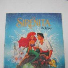 Coleccionismo Álbumes: ALBUM DE LA SIRENITA PANINI. Lote 37956684