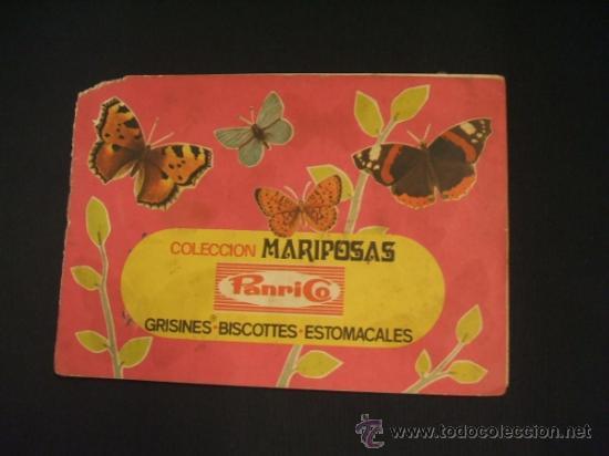 ALBUM DE CROMOS - COLECCION MARIPOSAS - A FALTA DE 3 CROMOS - PANRICO - (Coleccionismo - Cromos y Álbumes - Álbumes Incompletos)