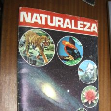 Coleccionismo Álbumes: NATURALEZA / ALBUM INCOMPLETO CON 166 CROMOS / EDITORIAL FHER 1981. Lote 38379669