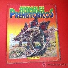 Coleccionismo Álbumes: ALBUM INCOMPLETO ANIMALES PREHISTORICOS PANINI 1992. Lote 38420812
