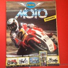 Coleccionismo Álbumes: MOTO STICKLINE. Lote 38421046
