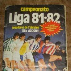 Coleccionismo Álbumes: ALBUM LIGA 81 - 82. EDITORIAL ESTE. COMPLETO A FALTA DE: LEER.. Lote 38454488