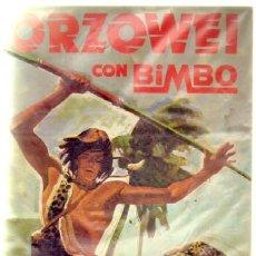 Coleccionismo Álbumes: ORZOWEI. BIMBO. ALBUM VACIO A-ALB-850.4. Lote 38495701
